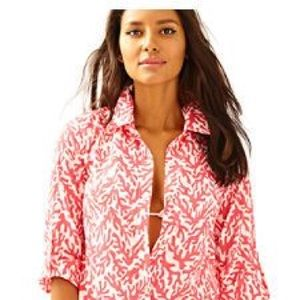 Lilly Pulitzer Jupiter Island Cover-Up